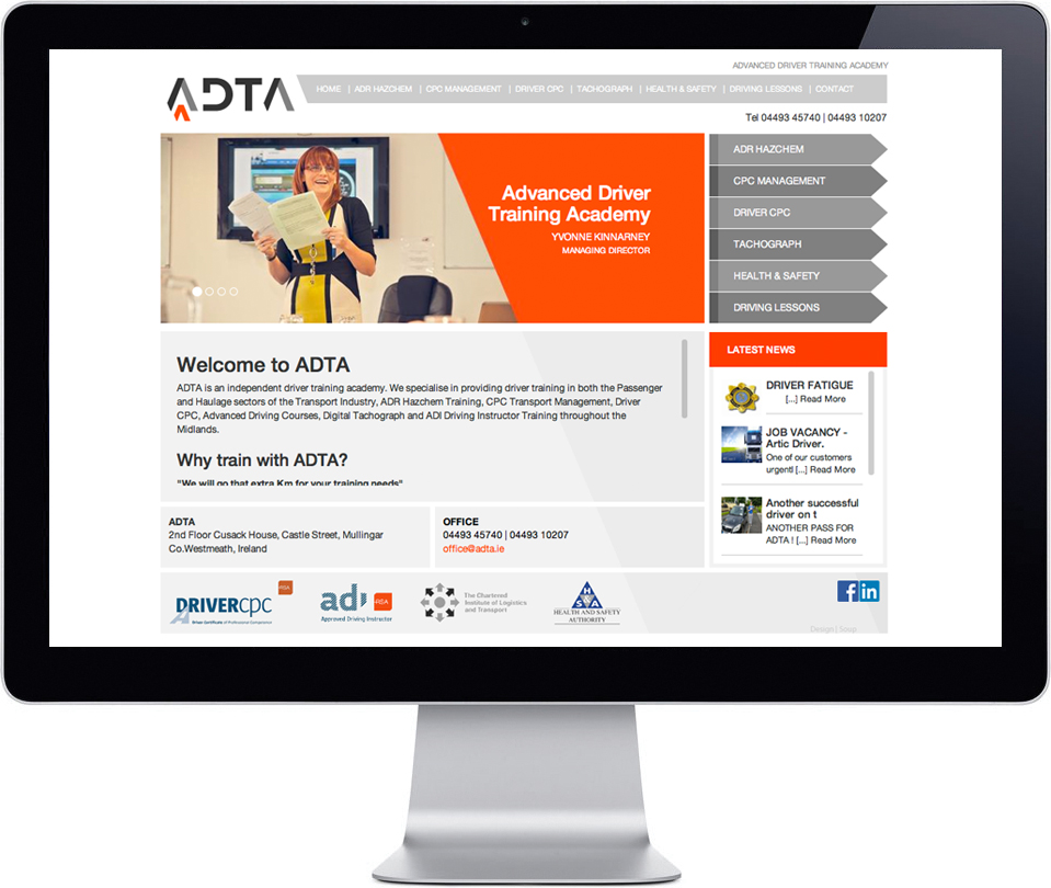 ADTA - Website