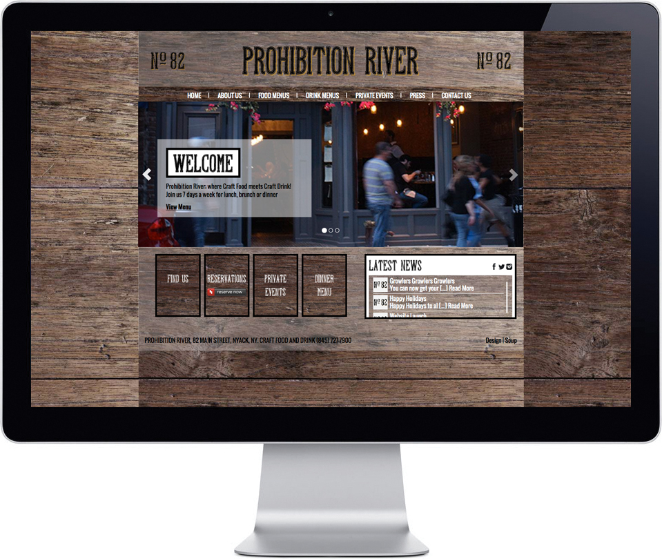 Prohibition River - Website